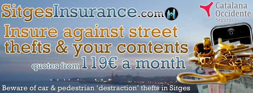 sitges insurance theft offer